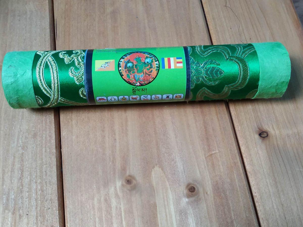 Vonne Tičinky-Incense Zeleny Tara,Green 10 pc
