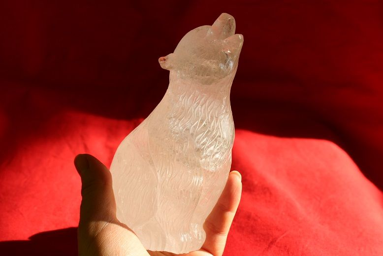 Křistál Medvěd,Bear Big One 15cm