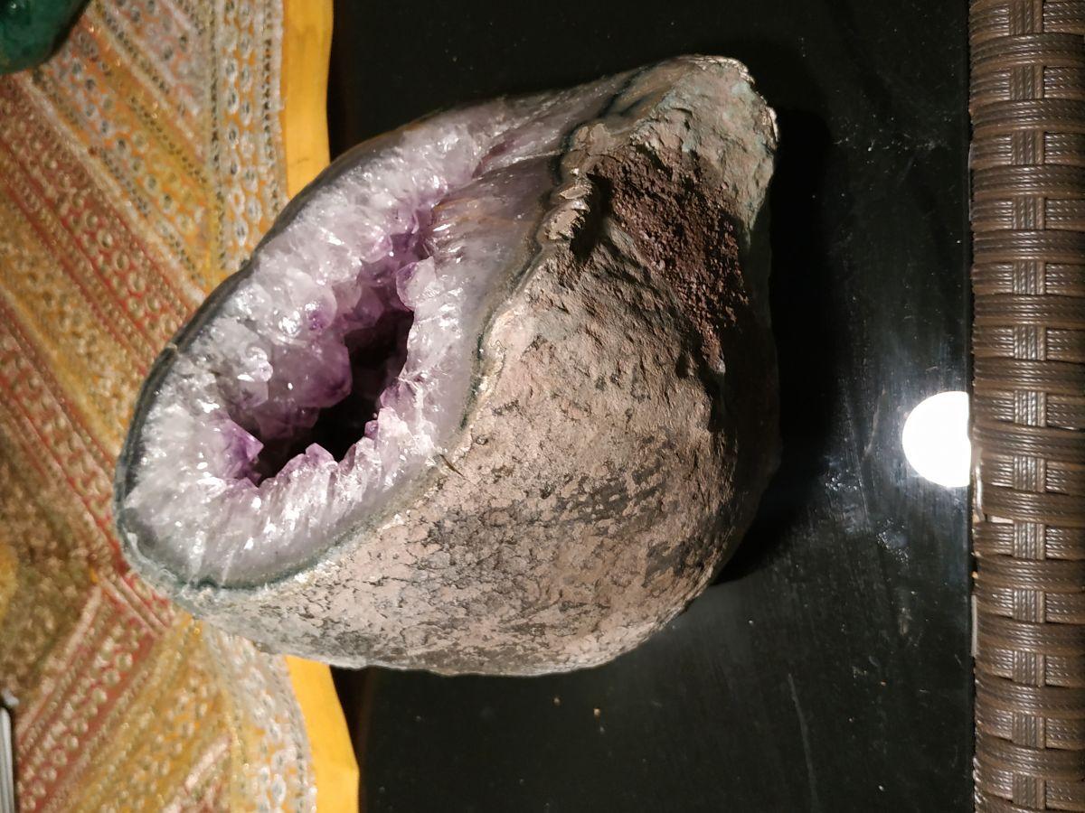 Ametist/Amethyst Geoda velky/big one 15cm