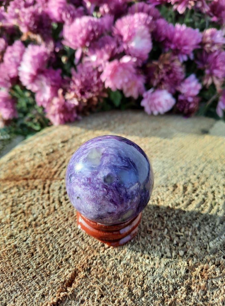 Čaroite /Charoite Koule/Sphere/Kugel 2,5-3cm