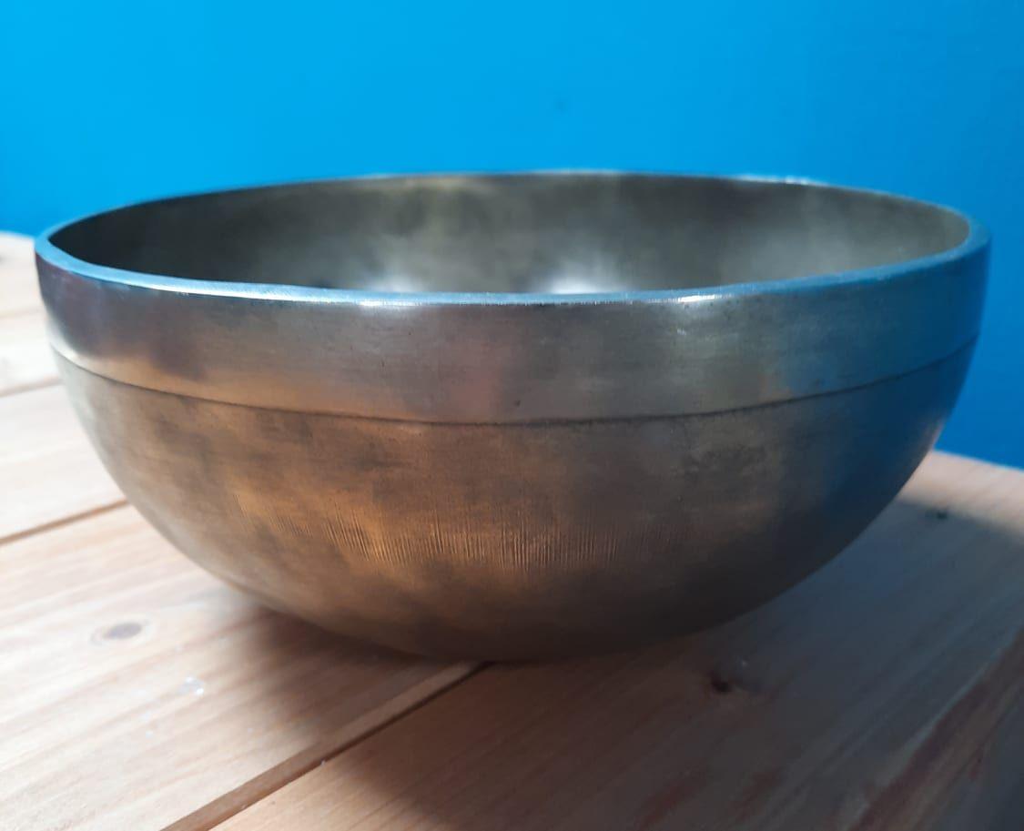 Golden Singing Bowls extra big one 26,5cm