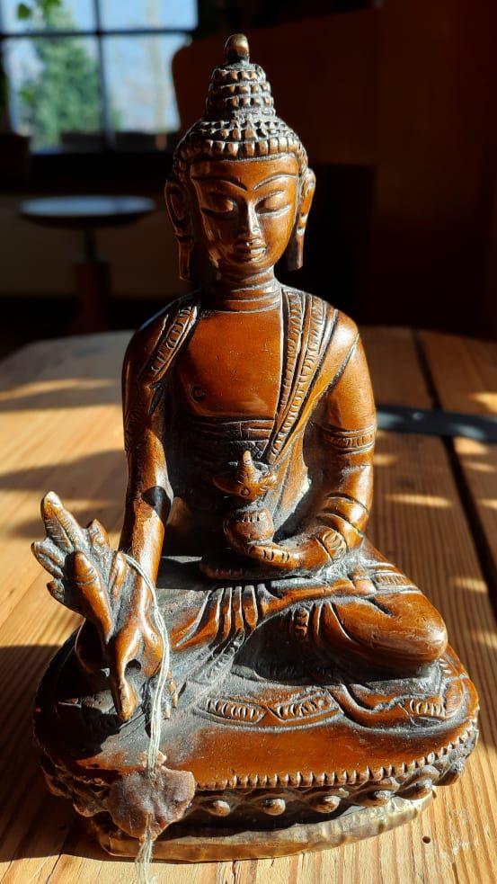 Buddha Medicie statue 16cm