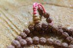 Malla small spheres Rudraksha 6 mm-6 faces