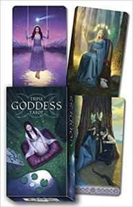 Triple Goddess Tarot (English,DE,FR,IT,SP) Jaymi Elford and Franco Rivolli