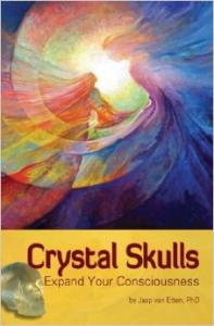 New with CD AUDIO Crystall Skulls Expand your Consciousness Jaap van Etten