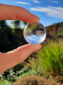 Crystal Clear Sphere,3cm