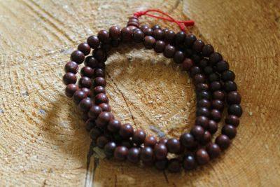 Rosewood Malla Rosary Beads 7 mm
