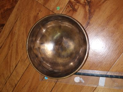 Tibetsky Misa/Singing Bowl/Klangschalen Simple 10cm