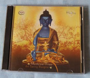 Medicine Tree /Medicine Buddha- Ani Tsering Wangmo audio mantra cd 5 pc